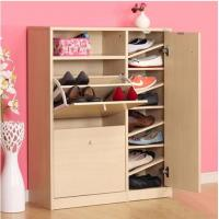 Buy cheap melamine Chipboard shoes cabinet design from wholesalers