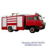 Buy cheap 8000L 260HP FAW Fire Pump Truck product