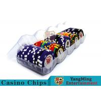 Buy cheap Professional Scrub Casino Chip Tray / Plastic Chip Tray 150g Easy To Carry from wholesalers