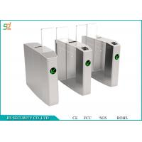 Quality CE Passed Automated Speed Gates, Access Entrance Control Turnstile Solutions for sale