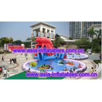 Buy cheap Large  Lobster Pool Inflatable Water Parks For Commercial Use product