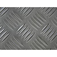 China 6061 T6 Aluminum Diamond Tread Plate , Heat Insulating Diamond Plate Sheets on sale