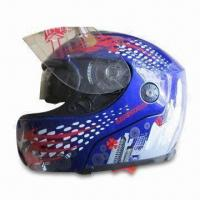 Buy cheap Flip-up Helmet with Comfort Interior and Double Visors product