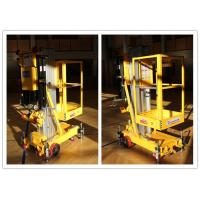 Buy cheap Easy Loading Vertical One Person Lift , 7.6 M Platform Height Hydraulic Aerial Lift product