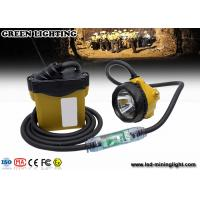 Buy cheap LED Mining Cap Lights miners cap lamp with 3.7V 10.4Ah SAMSUNG battery pack product