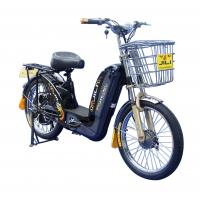 Buy cheap Chile Popular Simple 48V12A GEL Battery 450W Loading Adult Electric Bike from wholesalers