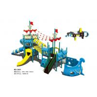 Buy cheap Inclusive Children Playground Equipment Kids Pirate Ship Theme Play Structure from wholesalers