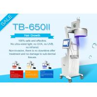 Buy cheap Touch Screen Laser Hair Growth Machine For Clinic / Salon Two Years Guarantee product