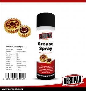 Buy cheap AEROPAK 500ML aerosol spray can Multi purpose lubrcant Grease Spray product