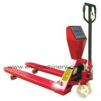 Buy cheap Durable and Easy to use Folding Hand Pallet Truck for Sale for Warehouse use product