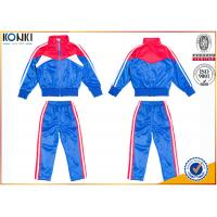 Cheap New school uniform design blue and red color 100% polyester custom school uniform for teachers and students wholesale