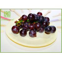 Buy cheap Natural Color Wooden Dinner Plates , Eco Friendly Wooden Party Plates For Pizza product
