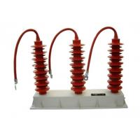 Buy cheap Overvoltage Protection Distribution Surge Arrester Unique Polymeric Housing product
