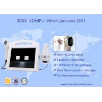 Buy cheap 2 In 1 Face Lift 3D HIFU Machine High Intensity Focused Ultrasound 110V - 220V Voltage product