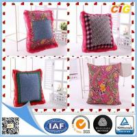 Buy cheap Customized Outdoor Cushion Covers , Sofa Seat Cushion Cover With Polyster And Cotton product