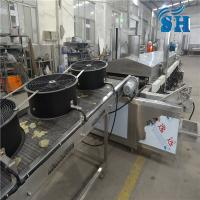 China fried potato chips snack food making machines on sale