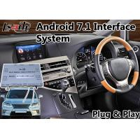 Buy cheap Android 7.1 Navigation Interface System for 2012-2015 Lexus RX 350 Mouse Control Waze Spotify product