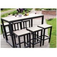 Buy cheap Bar Height Table And Chairs , Pool Furniture Sets For Dining / Conversation from wholesalers