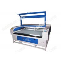 Buy cheap Leather Co2 Laser Machine Cutting Punching Hollowing PU Laser Engraving JHX - 160100 product