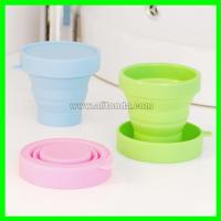 Buy cheap Soft compressible and exquisite silicone sports cup for outdoor travel product