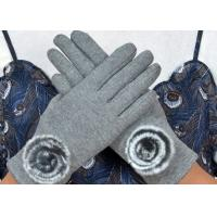 Buy cheap Warm Super Soft Phone Friendly Gloves , Texting Winter Gloves With Smart Touch  product