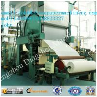 Buy cheap 2400mm 7-8T/D toilet paper making machine with waste paper as material product