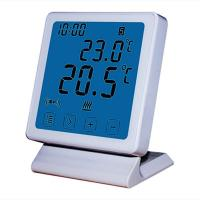 Buy cheap White Color Big Clear Screen WIFI Thermostat with Using ANDROID or IOS APP product