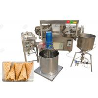 China Electric Waffle Ice Cream Cone Machine / Commercial Waffle Cone Maker Machine on sale