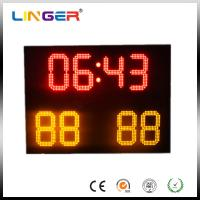 Buy cheap Small Ultrathin Full Color Electronic Soccer Scoreboard With Wireless Control from wholesalers