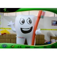 Buy cheap Promotion 2.3 M Height Inflatable Shapes / Inflatable Tooth With ToothBrush from wholesalers