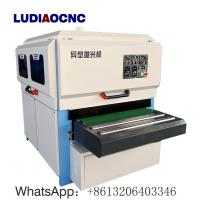 China 1300mm width MDF wood brush polish sanding machine for  engraved MDF and prime furniture on sale