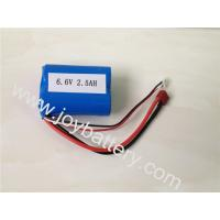 Buy cheap A123 26650 2500mAh 2S1P 6.6V 2500mAh battery pack, A123 ANR26650M1A Battery 2500mAh product