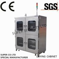 Buy cheap Electronic Stainless Nitrogen Dry Cabinet with towder light, anti-humidity and from wholesalers