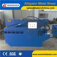Buy cheap Wanshida Q43-1000 Scrap Metal Shear Alligator Shears with blade cover safety for sale product