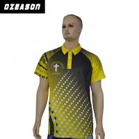 Buy cheap Design Your Own Style 100% Polyester Dri Fit Short Sleeve Polo Shirt from wholesalers