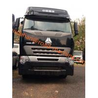 Buy cheap Double Sleepers International Tractor Truck SINOTRUK HOWO A7 LHD 6X4 Euro2 420HP ZZ4257V3247N1B product
