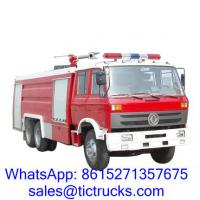 Buy cheap Cheap 12000L 210HP Foam Fire Truck 6 x4 DongFeng for sale product