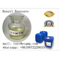 China Safety Pharmaceutical Solvent Bb Benzyl Benzoate for Steroid Solution 120-51-4 Light Yellow Liquid on sale