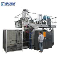 Buy cheap HDPE Plastic Drum Blow Molding Machine , 60L Drum Extrusion Blow Molding Machine from wholesalers