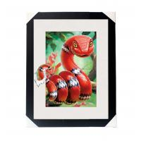 Buy cheap In Stock Amazing 5D 30*40CM Lenticular Picture With PS Frame For Wall Art Home Decor product