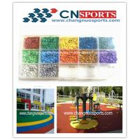 Various Bright Colours UV Resistant EPDM Rubber Granules