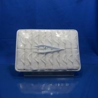 Buy cheap White 100% Cotton Airline Disposable Hot Towel product