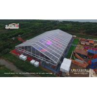 Buy cheap Transparent Aluminum Alloy Frame Large Event Canopy For Wedding Party With Roof Lining product