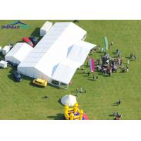Buy cheap Luxury Marquee Party Tent Hard Pressed Extruded Aluminum 6061 / T6 Frame 850g / Sqm product