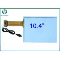Buy cheap 10.4 Inch Capacitive Touch Panel / Capacitive Touch Sensor Bonded On Front Glass product