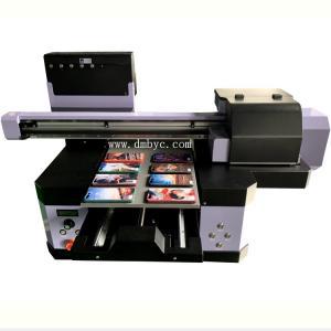 China 2019 Inkjet Leather Printing Machine Digital Flatbed A3UV Printer For Golf Ball on sale