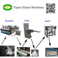 Buy cheap Semi automatic small toilet paper making machine production line product