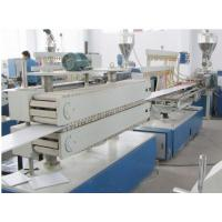 Buy cheap Wooden Plastic Product Pvc Sheet Extrusion Line / Machine Fully Automatic product