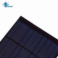 Buy cheap Rohs CE 5V High Efficiency Output epoxy solar panel photovoltaic 1.2W ZW-100100 Eco Friendly for garden light product