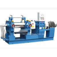 Buy cheap Professional Rubber Mixing Mill Waste Tyre Recycling Machine With Roller 160mm product